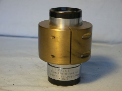 '   83mm 2.2 Kalee Bloomed 35mm Cine Projection Lens -RARE-FAST-  ' Kalee 83mm f/2.2 Projection Lens -VERY RARE- £149.99